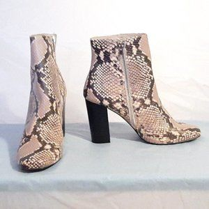 Steve Madden Snake Skin Boot Heel Size 10 !NEW!